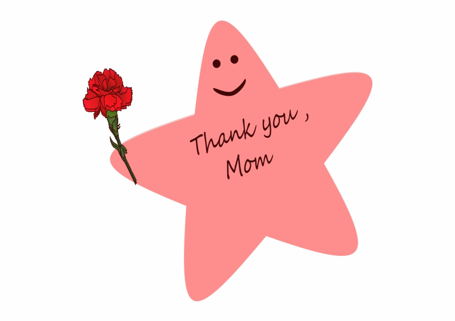 Mother clipart thank you. Happy mothers day mom