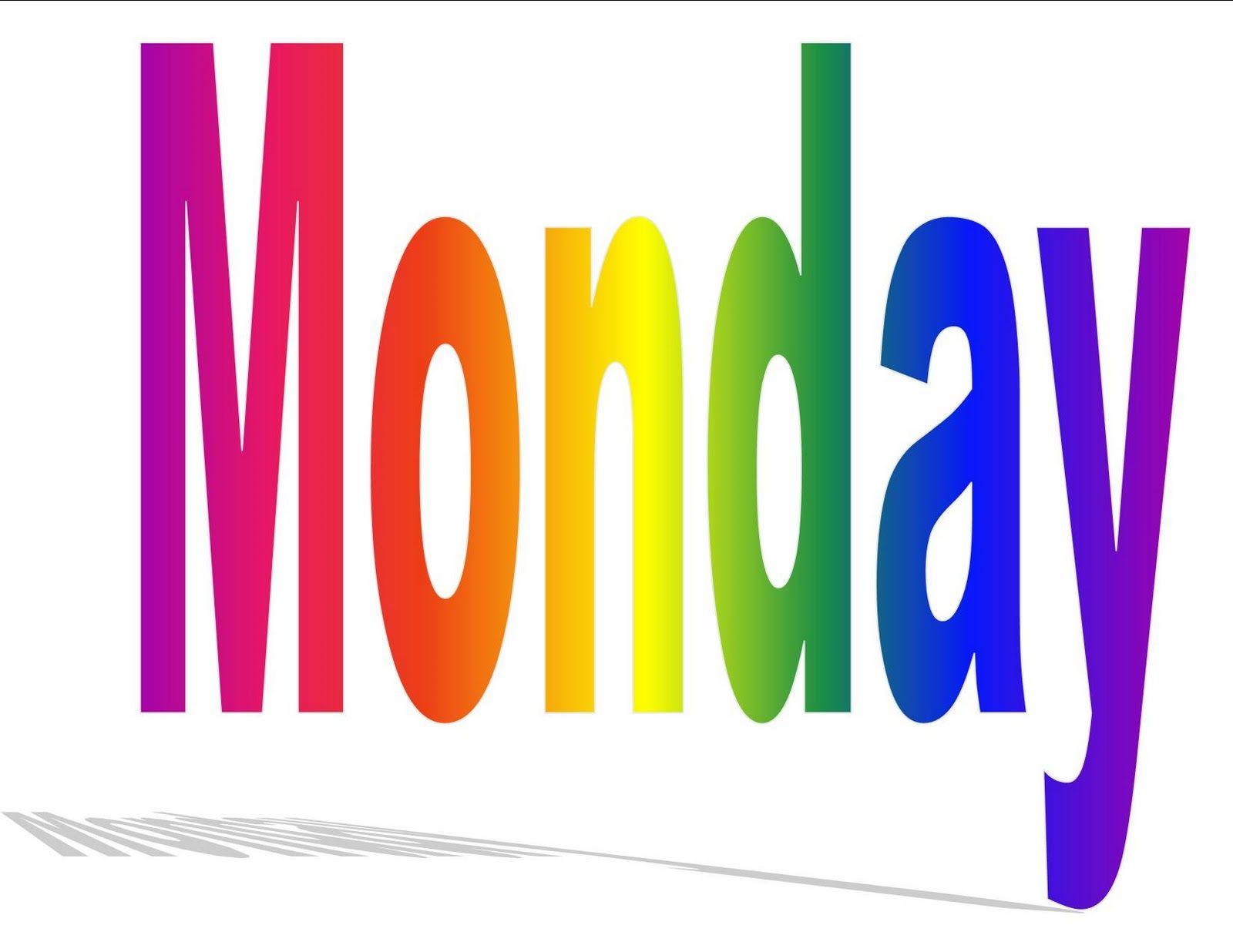 Monday clipart. It s clip art
