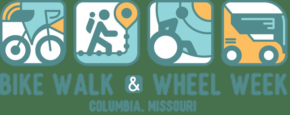 Bike walk wheel pednet. Schedule clipart 2 week
