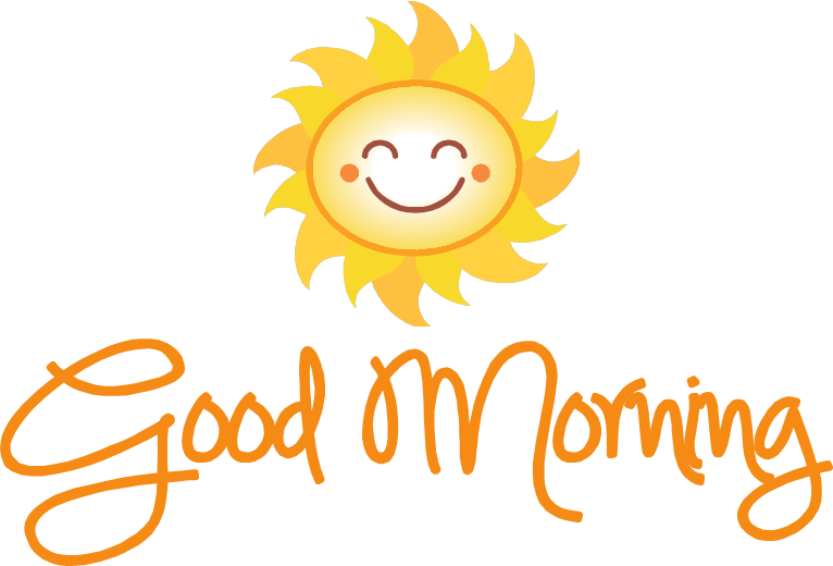 Png images transparent free. Wednesday clipart good morning