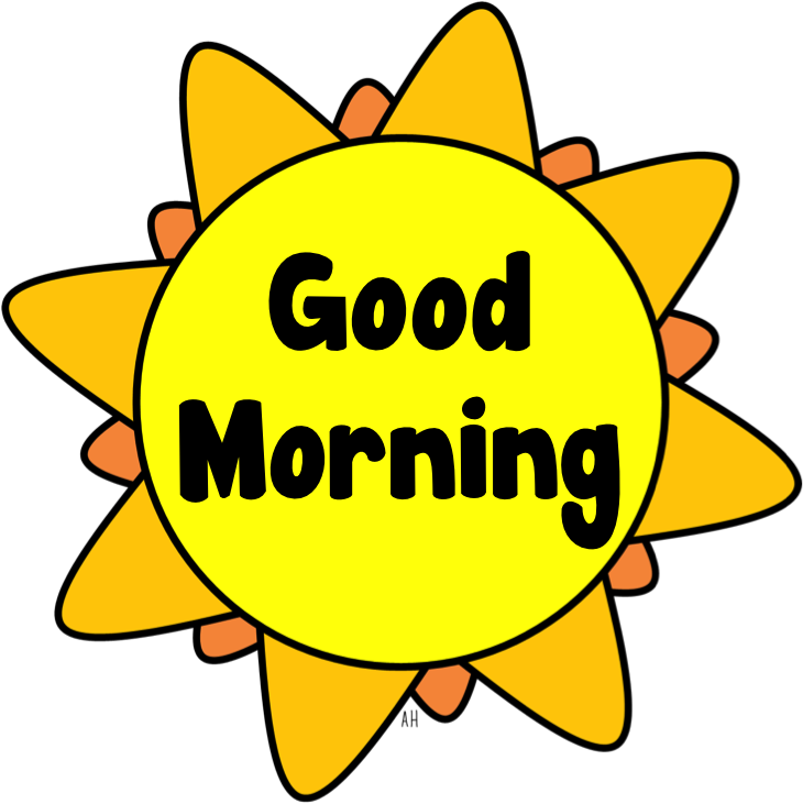 Transparent png pictures free. Wednesday clipart good morning