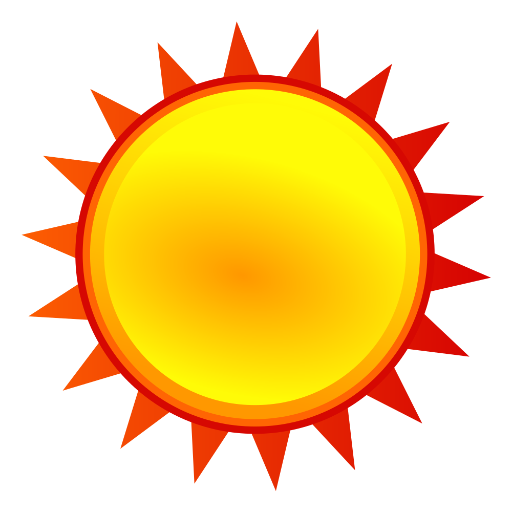 Wednesday clipart sunny. File nuvola weather svg