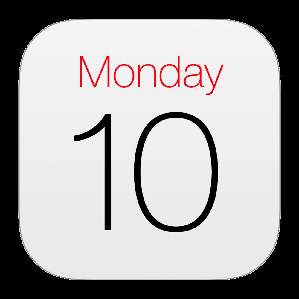 Ipad iphone computerteachergreg com. Schedule clipart calendar day