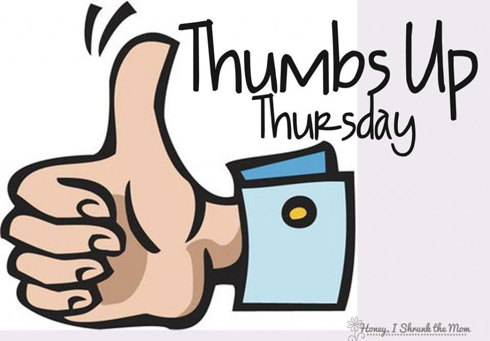 Thumbs up thursday day. Monday clipart wednesday