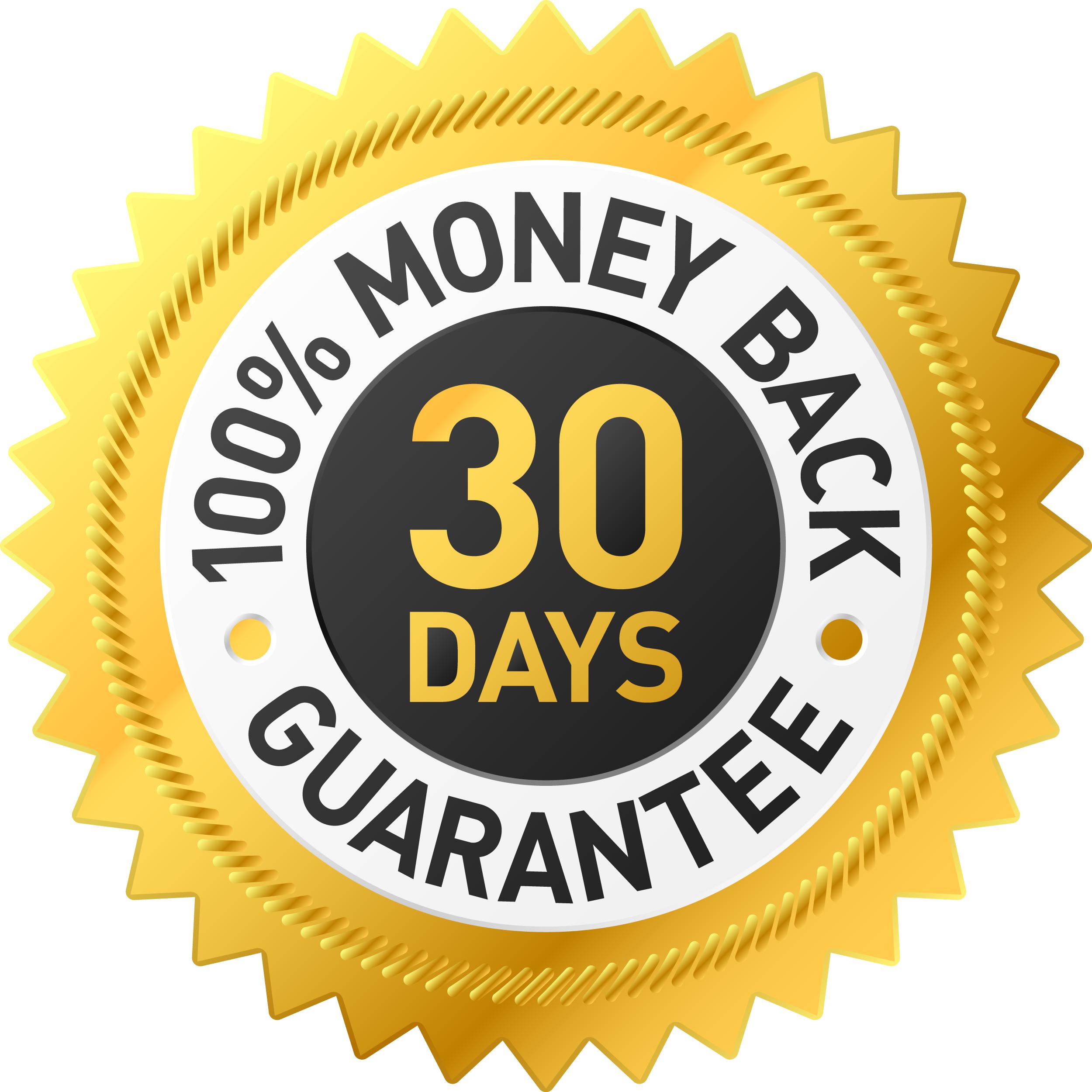 Money back guarantee png.  day transparent transparentpng