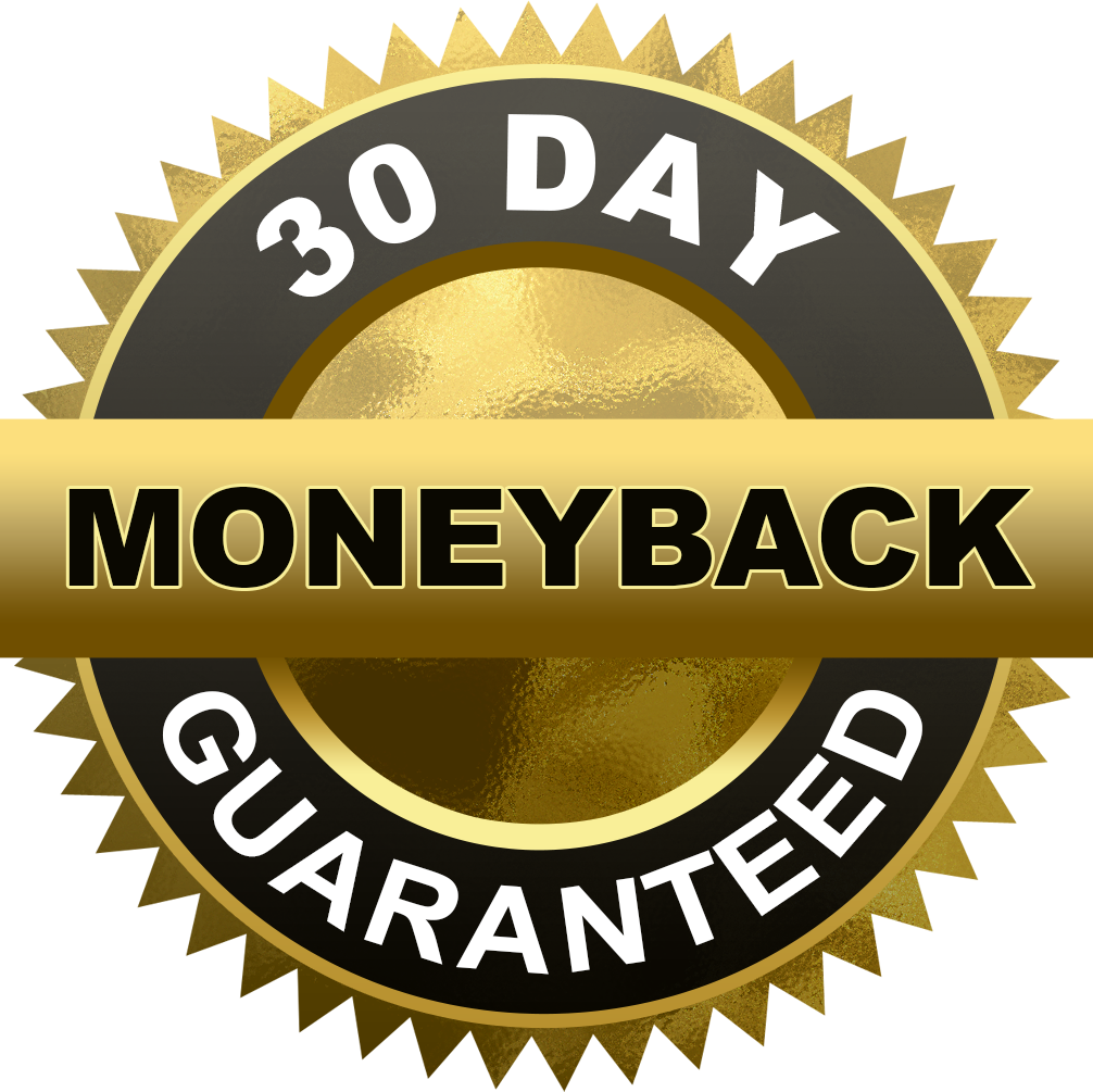 Money back guarantee png.  day cut out