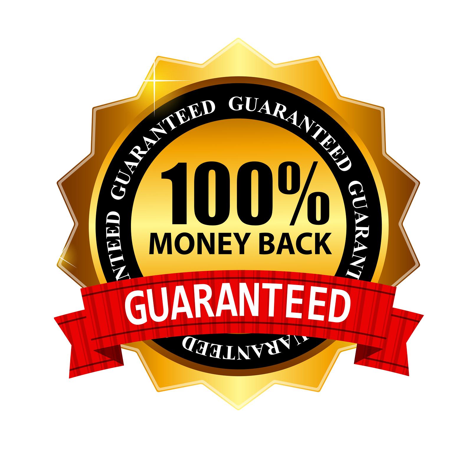 Hq transparent images pluspng. Money back guarantee png