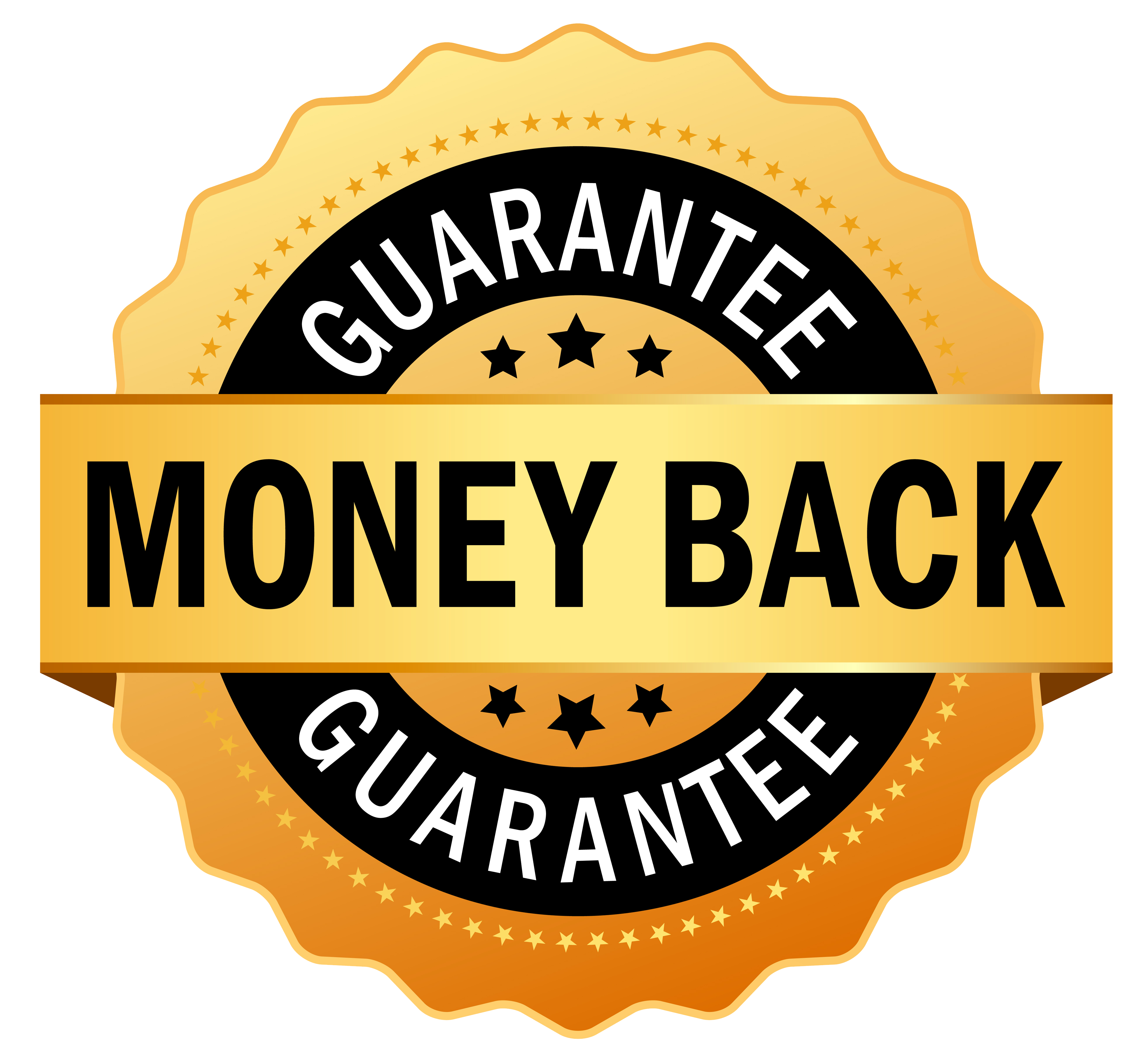 bbvd c. Money back guarantee png
