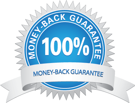 Seo services guarantee bch. Money back png
