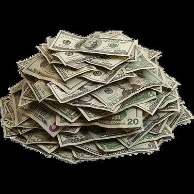 Pile of cash transparent. Money background png