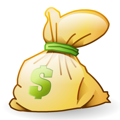 Photos transparentpng. Money bag clipart png