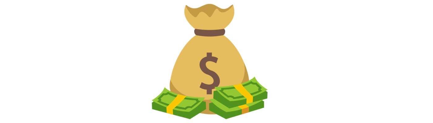 Adopt a character from. Money bag emoji png