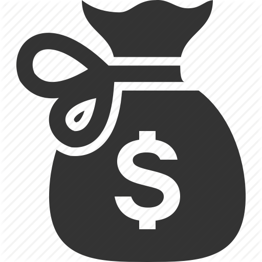 Money bag icon png. Rcons finance by alexei