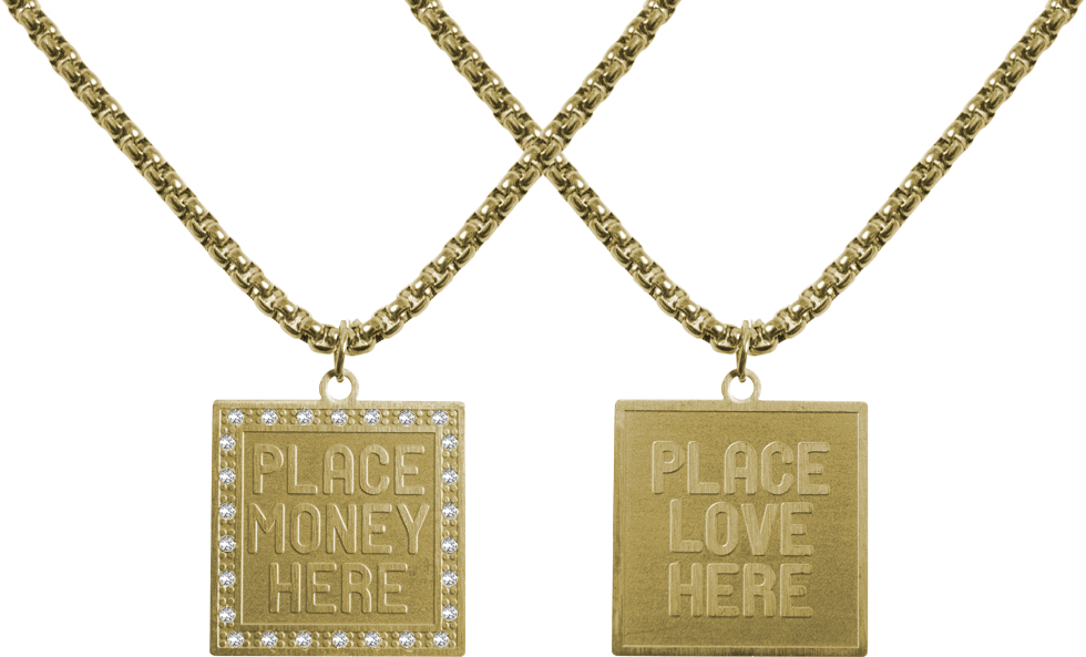 Money chain png. Place here and love