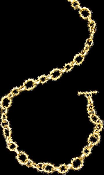 Handmade k yellow gold. Money chain png