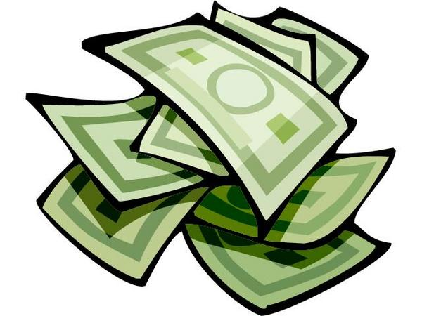 Money clip art. Dollar clipart