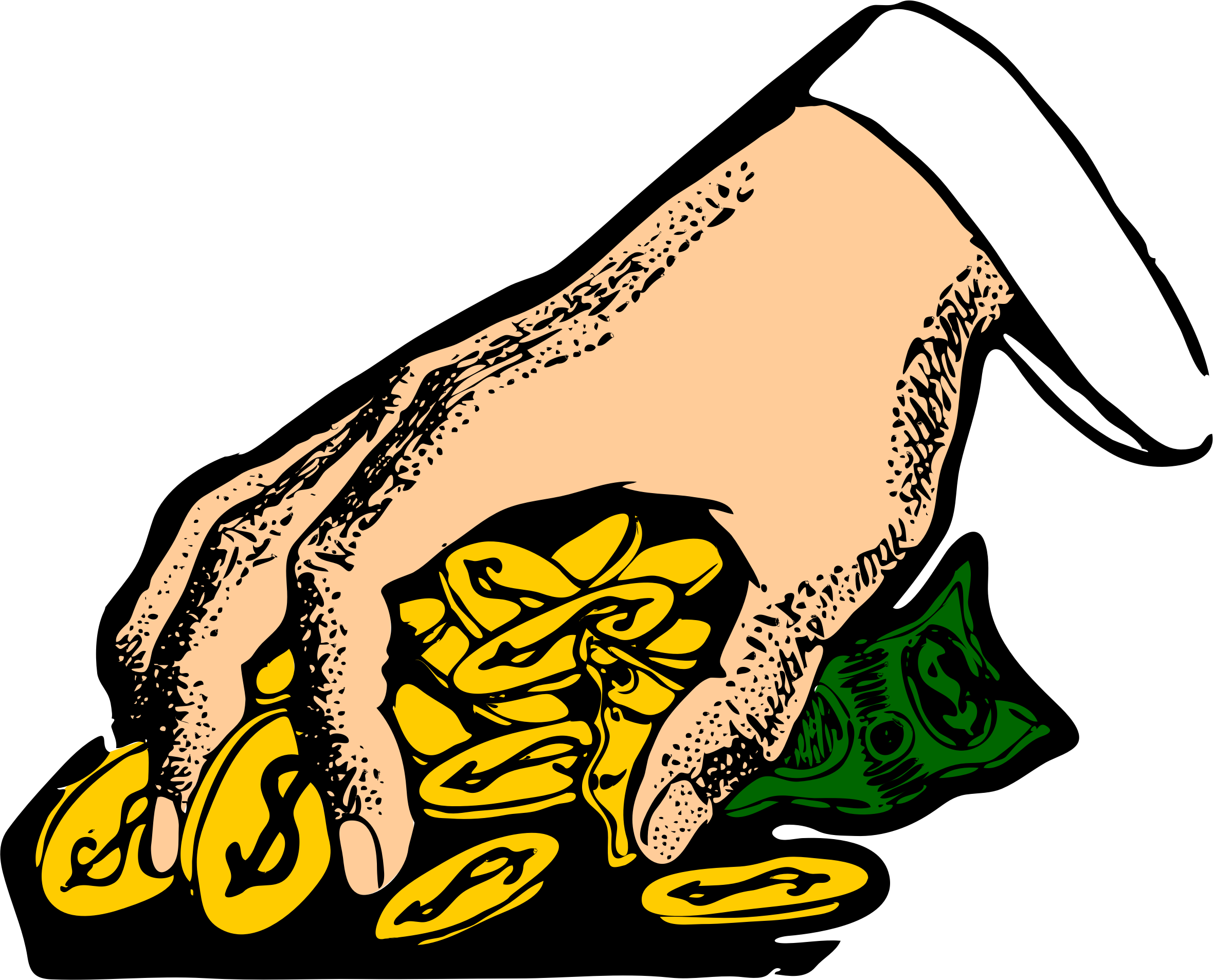 money clipart cute