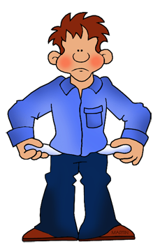 Money clip art cartoon. Free by phillip martin