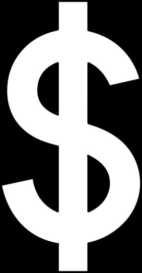 Line free. Money clip art dollar sign