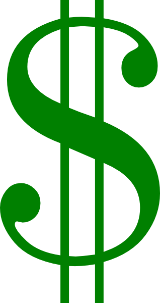 Money clip art dollar sign. At clker com vector