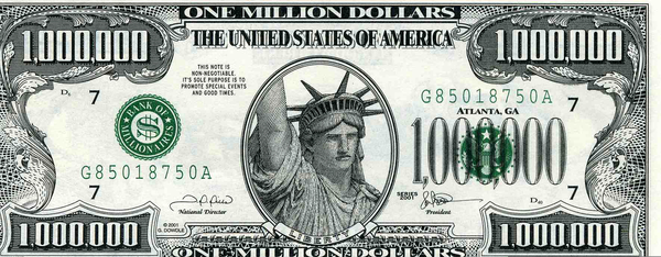 Dollar clipart million. One bill free images