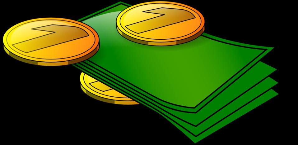 Money clip art million dollar. Public domain image illustration
