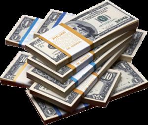 Economic cost of domestic. Money clip art million dollar