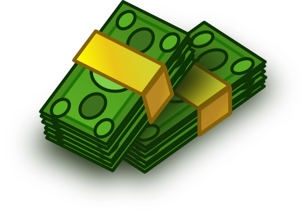 Money clip art money bag. Free cartoon download on