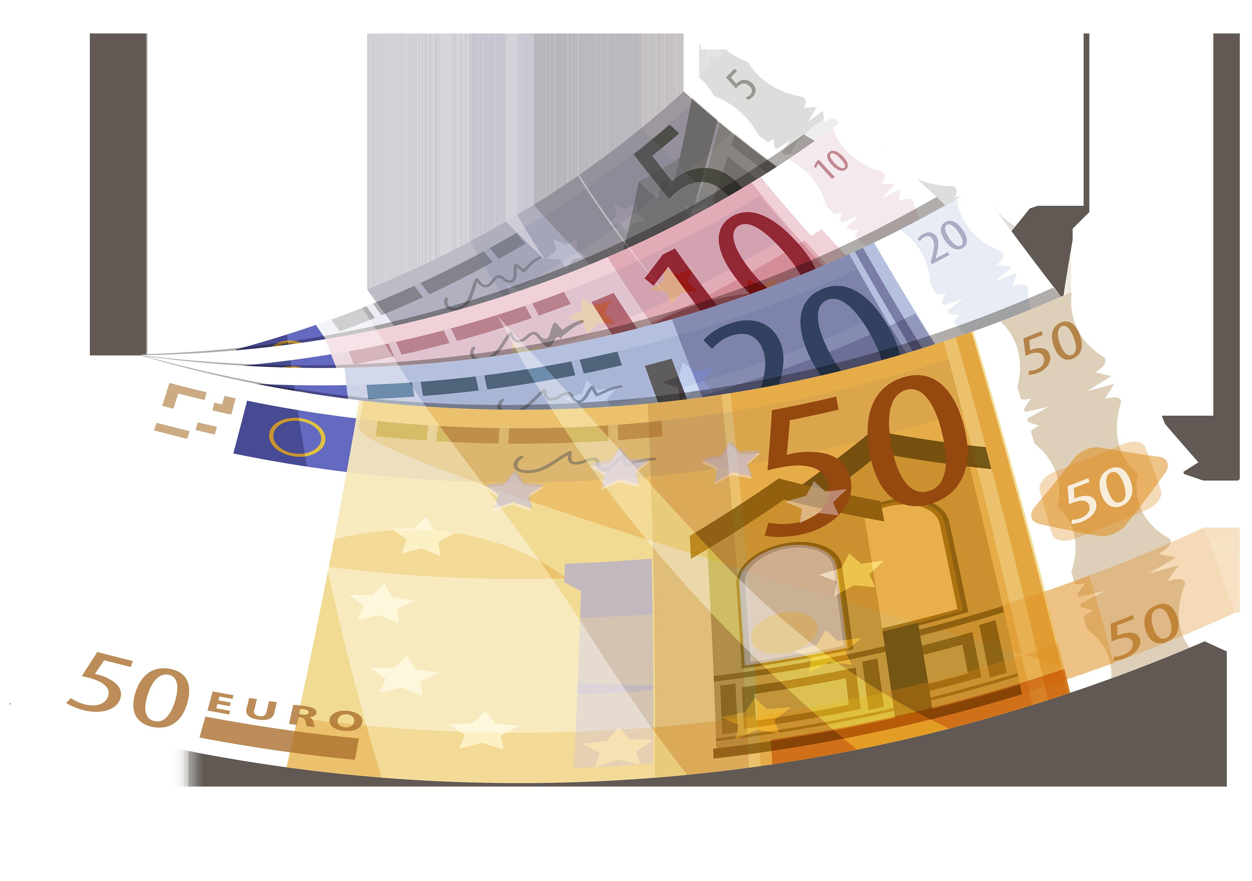 Money clip art paper money. Euro png clipart best