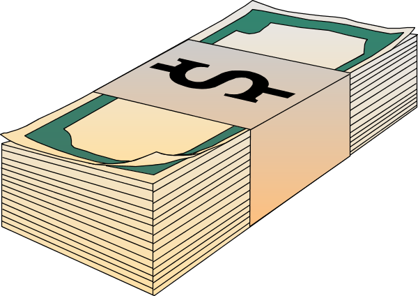 money stack png