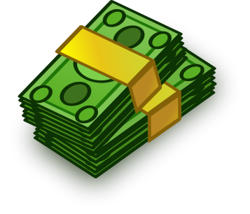 Money clip art transparent background. Stack of clipart clipartxtras