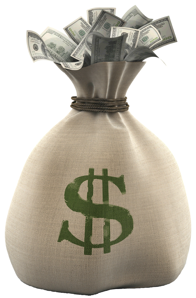 Pictures of bags bag. Money sack png