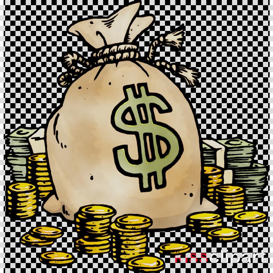 Illustration . Money clipart cartoon