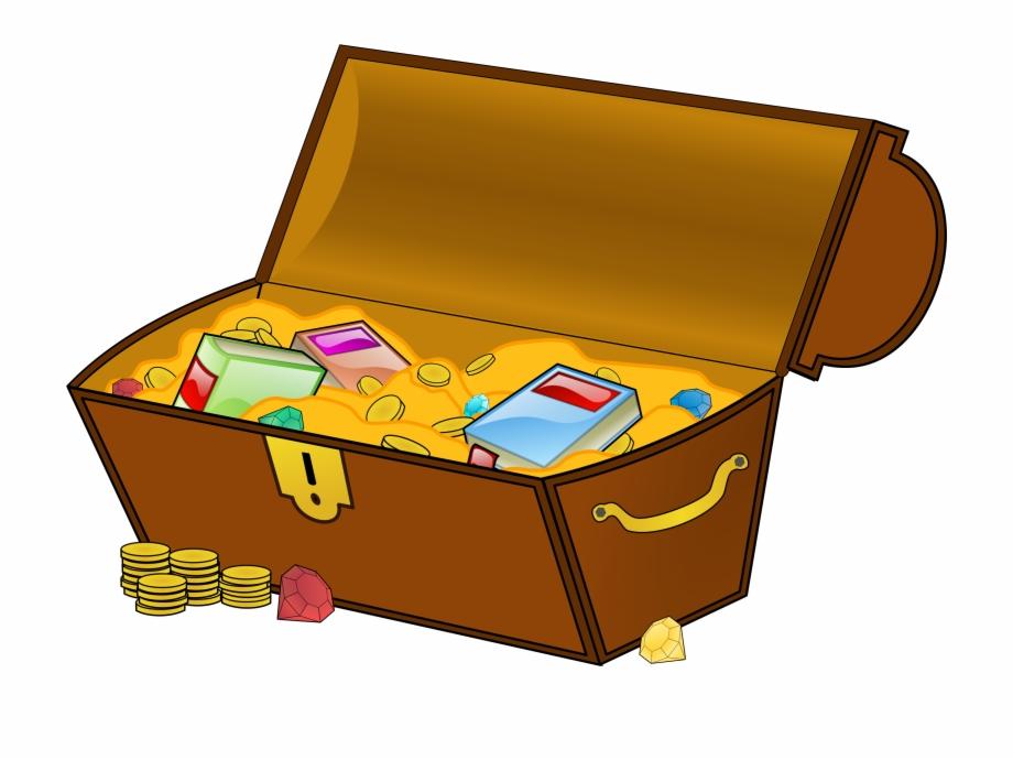 Chest explore pictures . Treasure clipart money