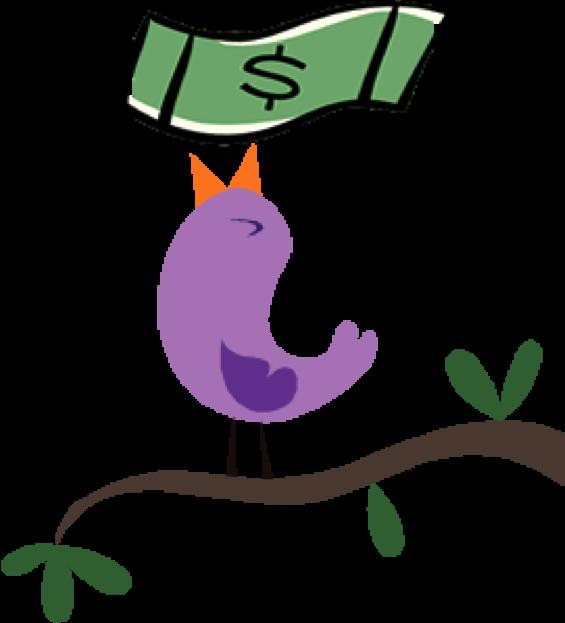Financial literacy tool bills. Money clipart offer