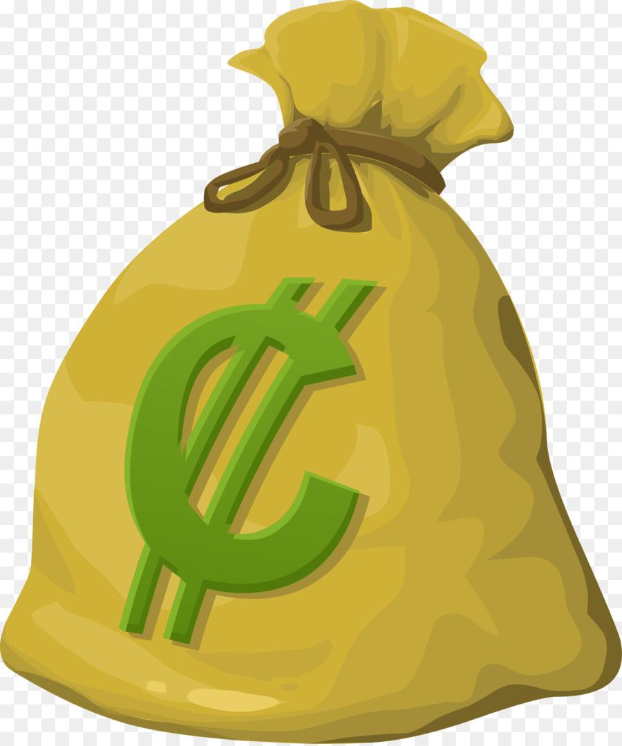 Bag green transparent clip. Money clipart pdf