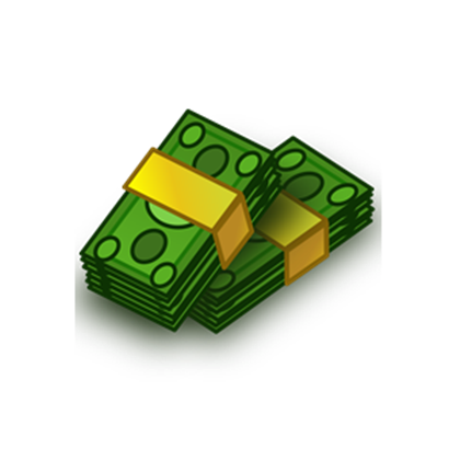Pile of roblox pileofmoneyclipartpng. Money clipart png