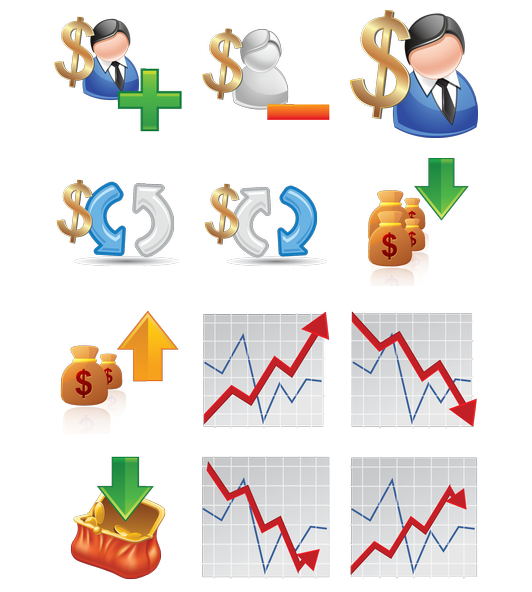 Money clipart trade. Currency trading forex icon