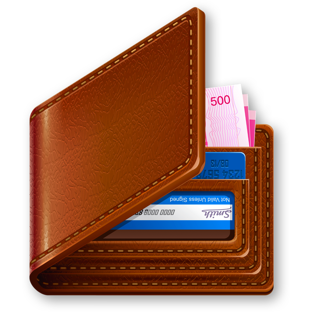Wallet clipart rupee bag. Brown png free icons