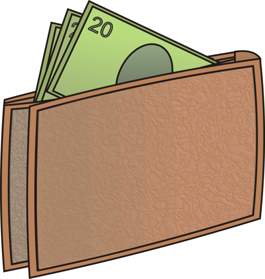 collection of in. Wallet clipart money clipart