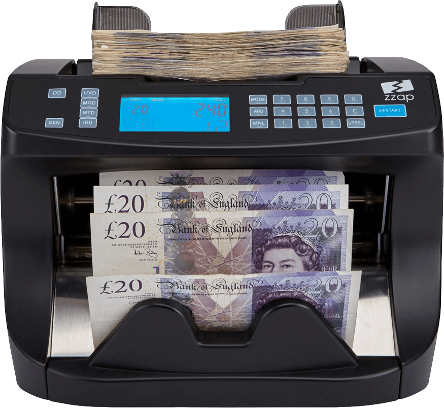 How do zzap banknote. Money counter png
