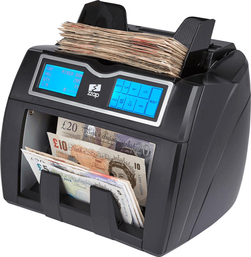 Nc note counting machine. Money counter png