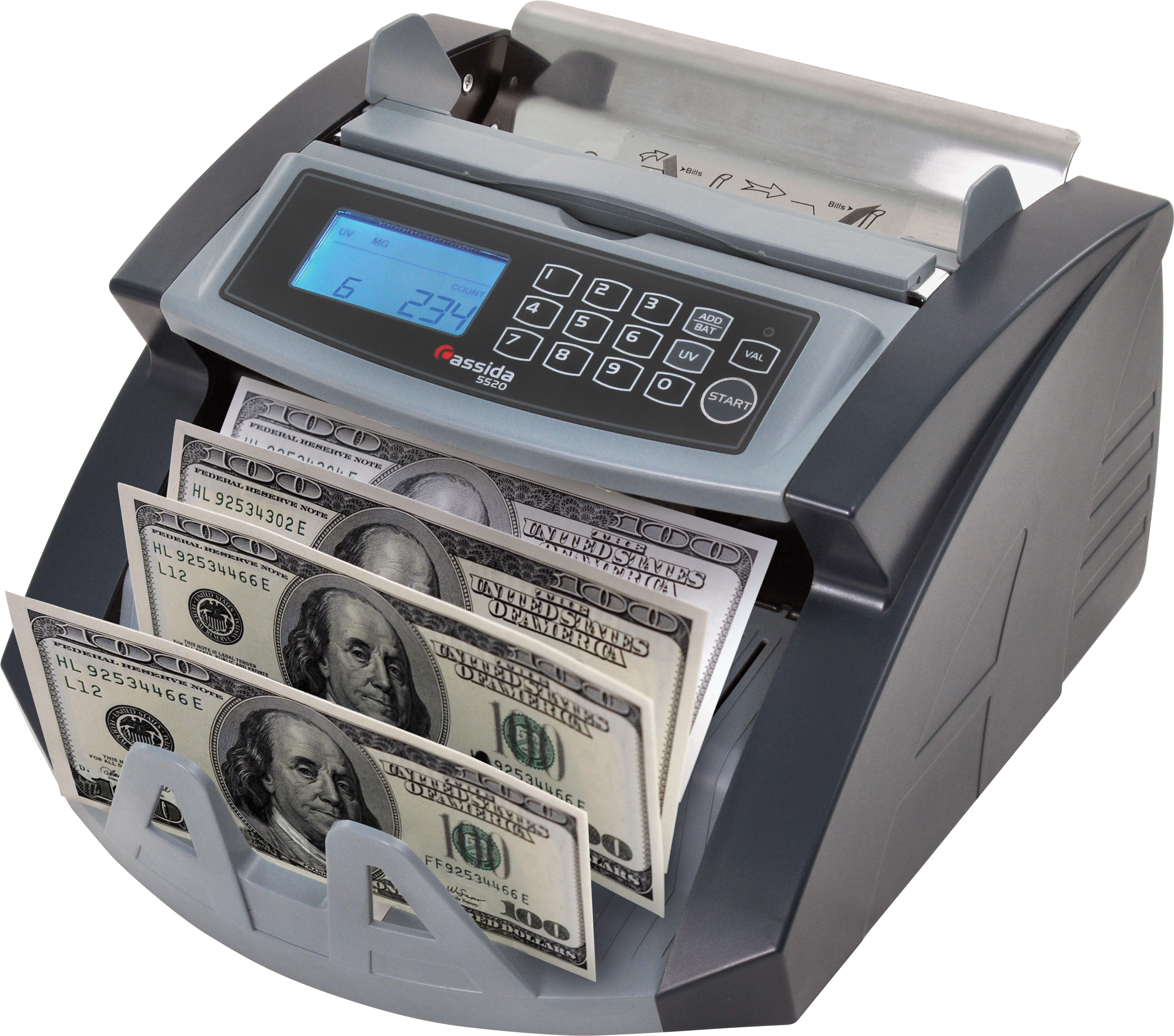 Coin bank that counts. Money counter png