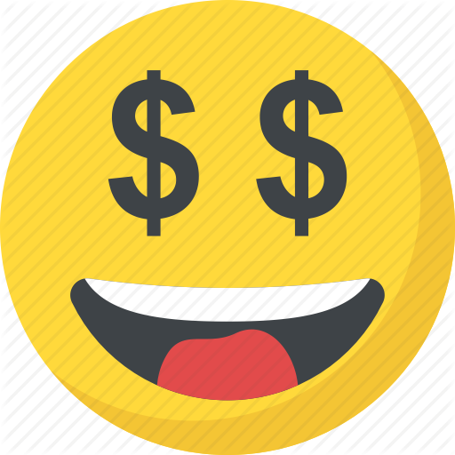 Smiley by vectors market. Money face emoji png