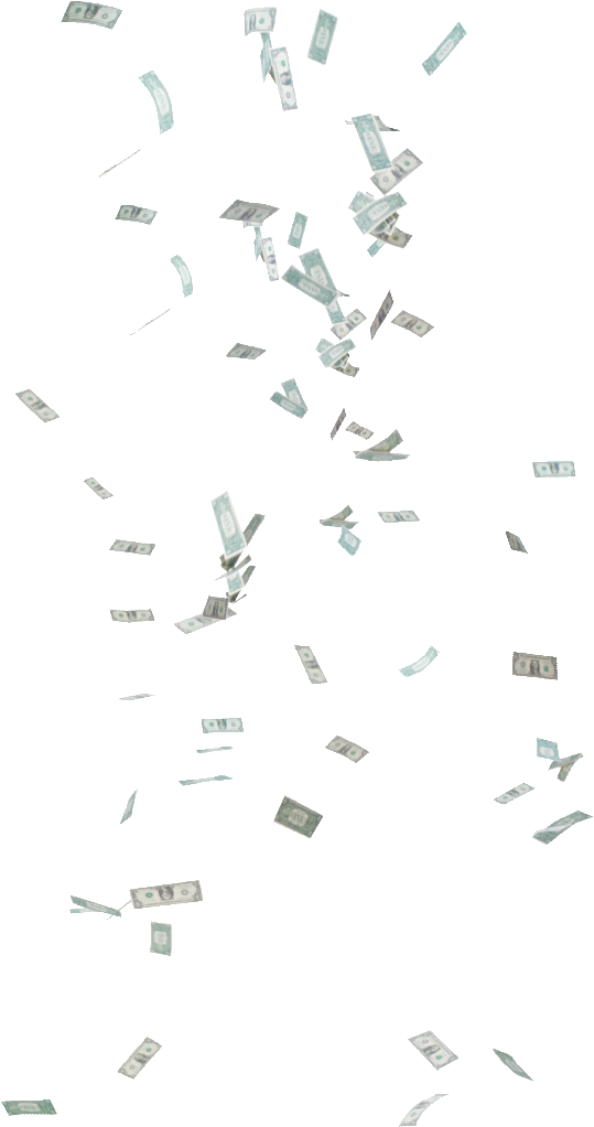 Money falling from the sky png. Images free download