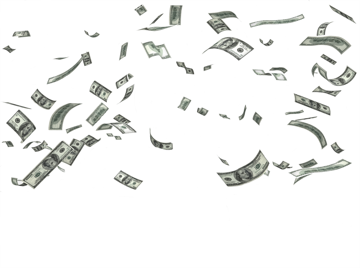 Money falling png. Images free download