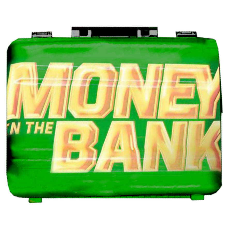Money in the bank png. Wwe new briefcase by