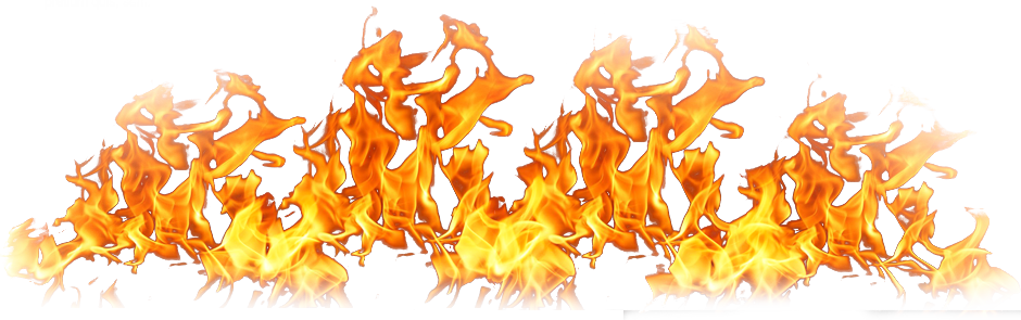Twelve isolated stock photo. Money on fire png