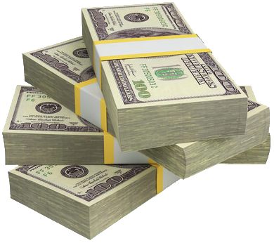 Money pile png. Answers to make online
