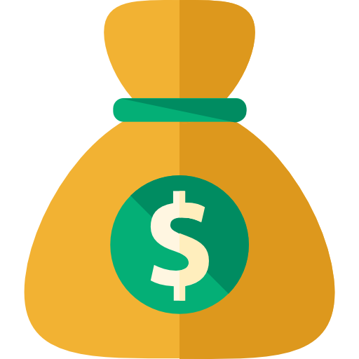 Bag free business icons. Money png icon